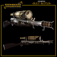 SteamPunk - Ray Rifle image 1