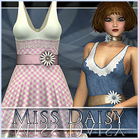 Miss Daisy Dress Clothing Themed RPublishing