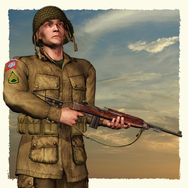 US Paratrooper WWII (Poser)