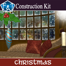 Christmas Construction Kit 2D Graphics EmmaAndJordi