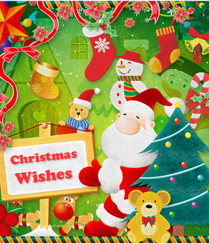 Christmas Wishes 2D Graphics Atenais