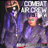 V4 Air Crew Set 3D Figure Assets billy-t
