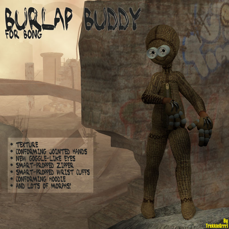 Burlap Buddy for Bong