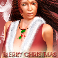 V4-MerryChristmas 3D Figure Essentials HollywoodBest