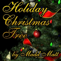 Holiday Christmas Tree Props/Scenes/Architecture Themed Madd_Matt