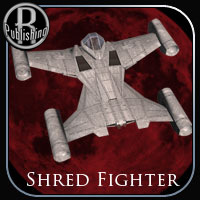 Shred Fighter (Poser, OBJ & Vue) Stand Alone Figures Transportation Themed Props/Scenes/Architecture RPublishing