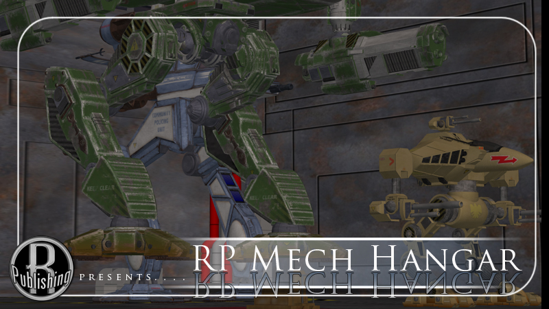 Mech Hangar (Poser & OBJ) by RPublishing