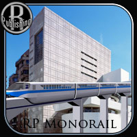 Monorail (Poser & OBJ) Stand Alone Figures Props/Scenes/Architecture Themed Transportation RPublishing
