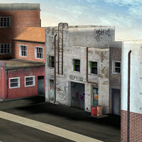Urban Buildings Set (Poser & OBJ) image 3