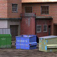 Urban Buildings Set (Poser & OBJ) image 4
