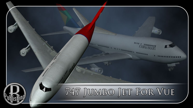747 Jumbo Jet for Vue by RPublishing