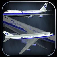 747 Jumbo Jet for Vue image 5