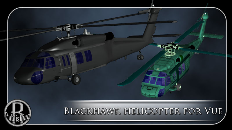 Blackhawk Helicopter for Vue by RPublishing