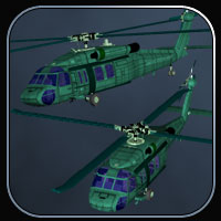 Blackhawk Helicopter for Vue image 1