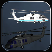 Blackhawk Helicopter for Vue image 2