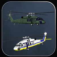 Blackhawk Helicopter for Vue image 3