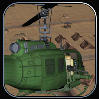 Huey-type Helicopter for Vue image 3