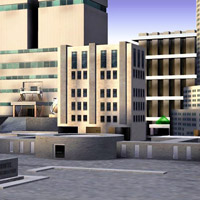 Corporate Buildings (Poser, Lightwave & OBJ) image 1