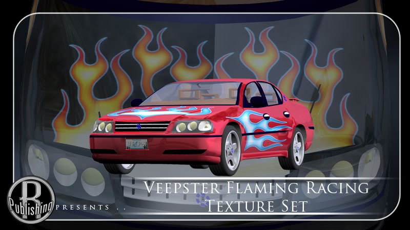 Veepster: Flaming Racing Texture Set by RPublishing