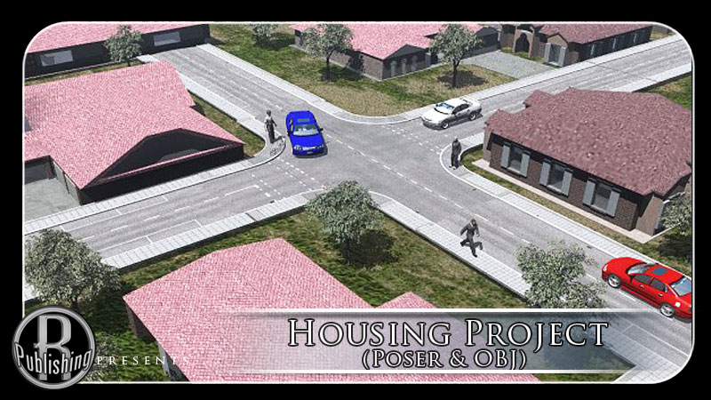 Housing Project (Poser & OBJ)