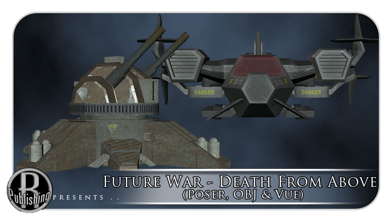 Future War - Death From Above (Poser, OBJ & Vue)