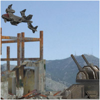 Future War - Death From Above (Poser, OBJ & Vue) Themed Props/Scenes/Architecture Transportation RPublishing