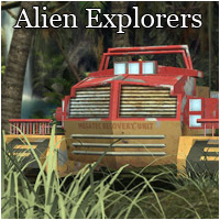 Future War - Alien Explorers (Poser, OBJ & Vue) 3D Models RPublishing
