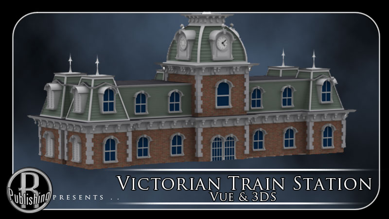 Victorian Train Station (Vue & 3DS)