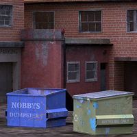 Urban Building 1 (Poser and OBJ) image 2