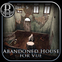 Abandoned House for Vue 3D Models RPublishing