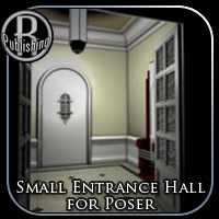 Small Entrance Hall (for Poser) 3D Models RPublishing