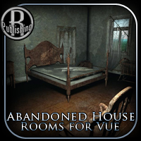 Abandoned House Rooms for Vue 3D Models RPublishing