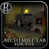 Alchemist Lab for Vue 3D Models RPublishing