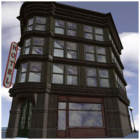 Old Style Building (for Vue) 3D Models RPublishing