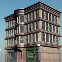 Old Style Building (for Vue) image 7