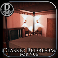 Classic Bedroom for Vue 3D Models RPublishing