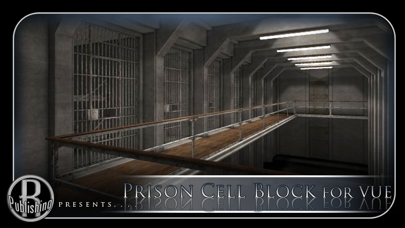 Prison Cell Block for Vue by RPublishing
