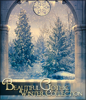 Beautiful Gothic VII: Winter Collection 2D Graphics Sveva
