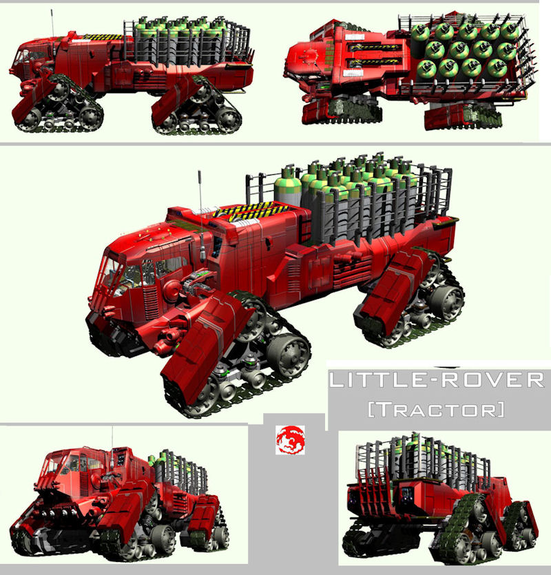 Little Rover Tractor