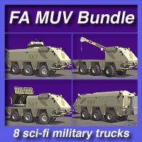 FA MUV Bundle Themed Transportation fireangel