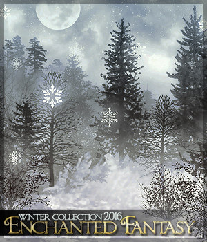 Enchanted Fantasy - The Winter Collection 2D Graphics Sveva