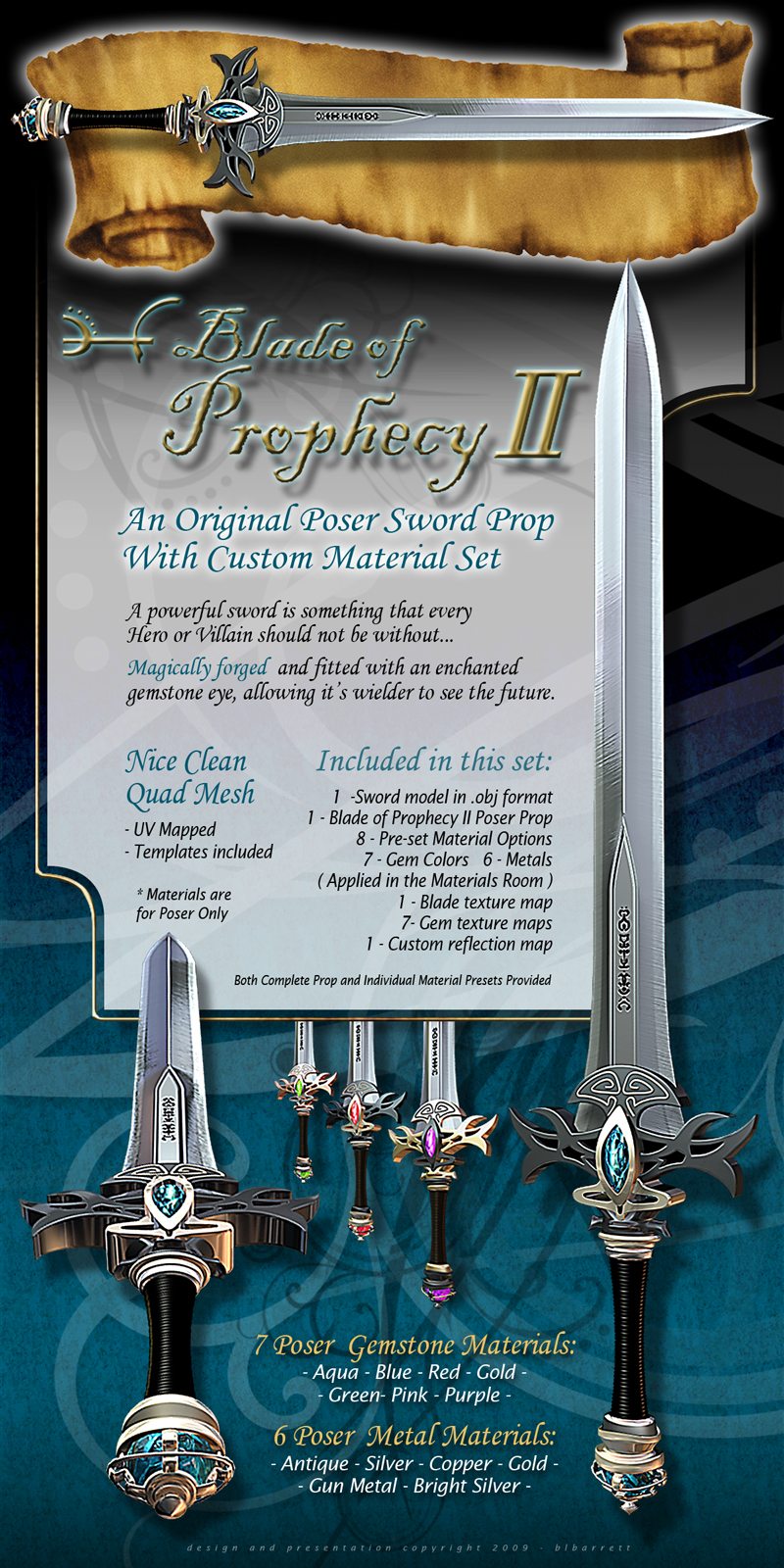 Blade Of Prophecy II