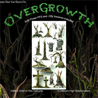 OverGrowth 3D Models Poisen