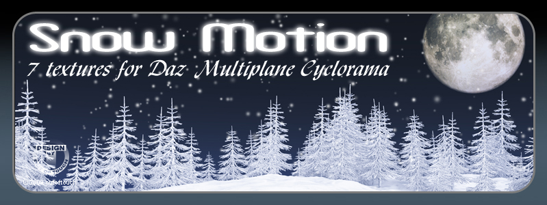 SNOW MOTION for Multiplane Cyclorama