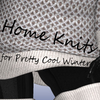 Home Knit for Pretty cool winter  didda