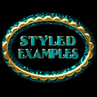 BLING! Colours Ornate Layer Styles w/Free Goodies for Photoshop 7 & Above image 2