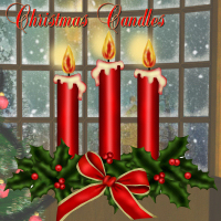 Christmas Candles 2D dpanzee
