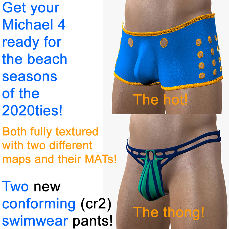 Bernie's 2020ties Swimwear for Michael 4
