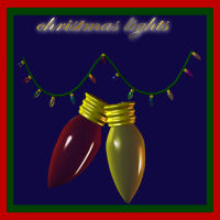 christmas lights for poser 3D Models fairyfantastic