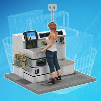 Self Service Checkout 3D Models mrsparky